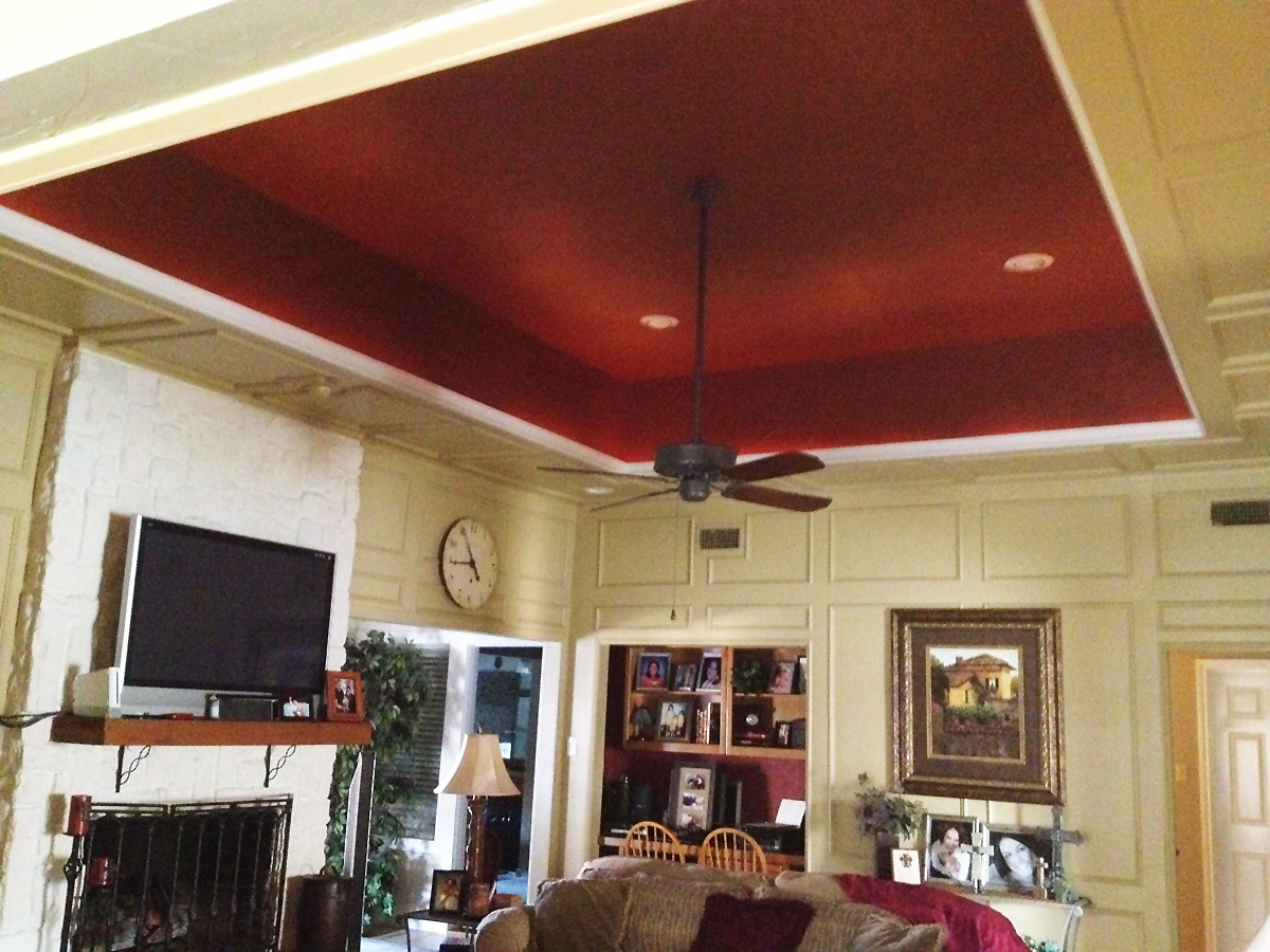 Fresh Painted Tray Ceiling | Ware Painting JI88